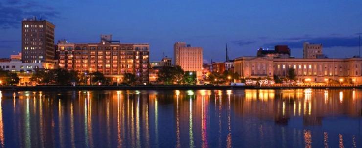 Downtown Wilmington scenesetters. UNCW/Jamie Moncrief
